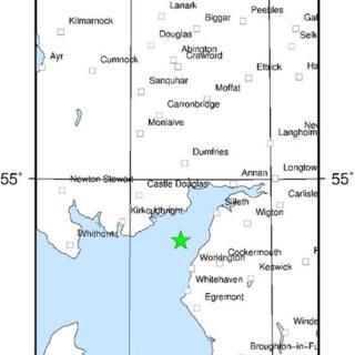 Earthquake site