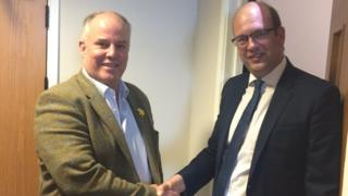 Andrew RT Davies and Mark Reckless