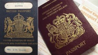 Hộ chiếu Anh (cũ và hiện hành)