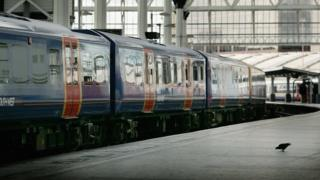 South West Trains at Waterloo