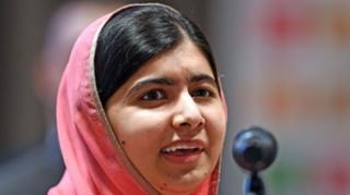 นางสาวมาลาลา ยูซาฟไซ คือผู้ส่งสารสันติภาพของสหประชาชาติที่มีอายุน้อยที่สุด