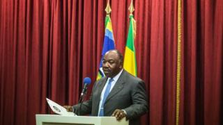 Le président Ali Bongo Ondimba lors d'une conférence de presse le 1er septembre 2016