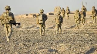 British soldiers in Helmand Province, Afghanistan