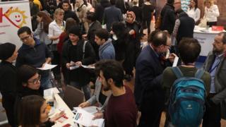 柏林在1月底舉行為難民和新移民而設的就業展覽