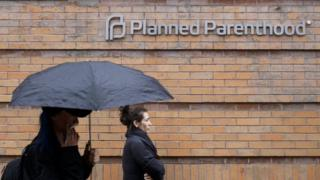 A view of a Planned Parenthood clinic in New York, New York.