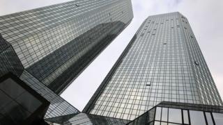Headquarters of Deutsche Bank on 29 October 2015