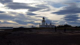 Lighthouse at Chanonry point