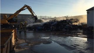 Nuffield industrial estate fire