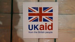 UK aid parcel