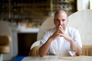 Celebrity chef George Calombaris