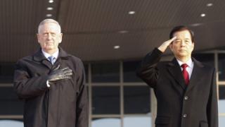 James Mattis, mevkidaşı Han Min-koo ile görüştü