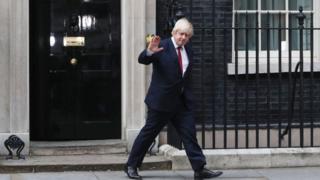 İngiltere'nin yeni dışişleri bakanı Boris Johnson
