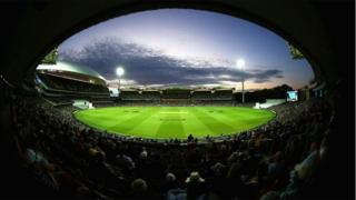 A view of day-night Test cricket at Adelaide Oval