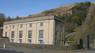 Sloy Hydroelectric Power Station