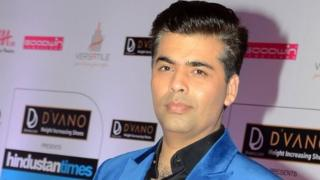 Indian Bollywood film director and producer Karan Johar poses as he attends the HT Mumbai's Most Stylish Awards 2015 ceremony in Mumbai late March 26, 2015.