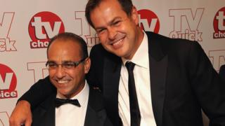 Theo Paphitis and Peter Jones