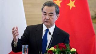 รัฐมนตรีต่างประเทศจีน