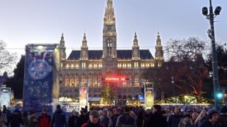 Ногодние праздники в Вене