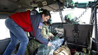Justin Trudeau surveys the damage in Fort McMurray