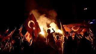 Мітинг у Туреччині