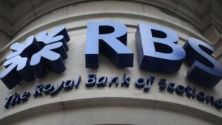RBS sign on building