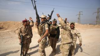 Abasirikare ba Irake ubu bagenzura uturere twose IS yari yarigaruriye
