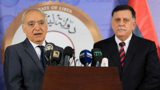 L'émissaire de l'ONU a effectué sa première visite en Libye.