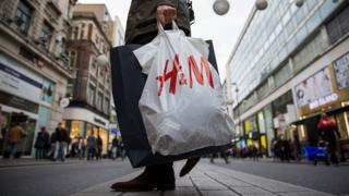 H&M shopping bag