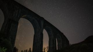 Milky Way over Glenfinnan Viaduct