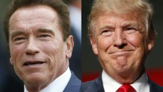 Arnold Schwarzenegger, Trump
