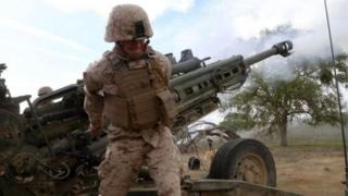 مدفعية أمريكية