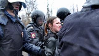 Задержание Грязневич
