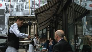 Waiter, London