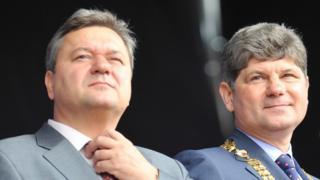 Валерия Голенко (слева) и Сергея Кравченко разыскивает СБУ