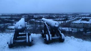 Cannons in Stirling