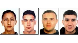 Moussa Oukabir, Said Aallaa, Mohamed Hychami, Younes Abouyaaqoub