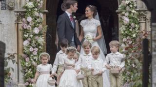 凱特王妃妹妹琵芭上周六結婚