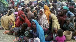 Aworan awọn ti ologun gbala lọwọ Boko Haram losu kini ọdun yi ni Monguno