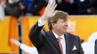 King Willem-Alexander on King's Day on April 27 2017
