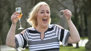 Bev Doran EuroMillions lottery winner from Shipley, West Yorkshire