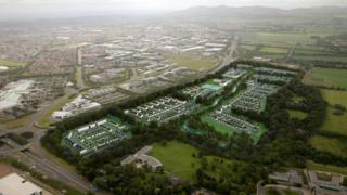 The 'garden district'