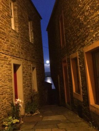 Moonlight in Stromness