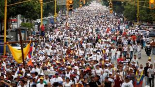 марш в Каракасе