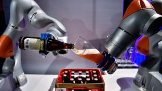 German industrial robot manufacturer Kuka