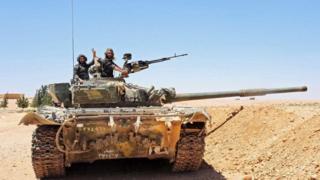 الحكومة السورية تؤكد أنها حققت تقدما نحو منطقة التنف