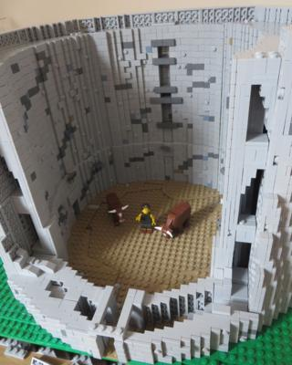 Lego broch