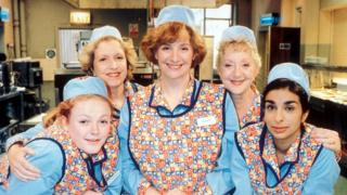 Maxine Peake as Twinkle , Anne Reid as Jean, Victoria Wood as Bren, Thelma Barlow as dolly and Shobna Gulati as Anita