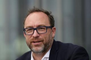 İnternet ansiklopedisi Wikipedia'nın kurucusu Jimmy Wales