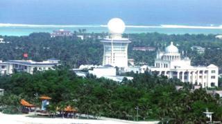 विवादित द्वीप पर चीन ने काफी निर्माण कार्य किया है