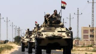جنود مصريين في سيناء